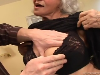 Slutty grandma Marinoka is mad for young cock. Than younger and harder, the...