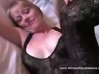 Grannie Wants A Creampie From Son