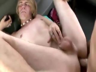Straight guys mess around gay movie xxx Dick Lover On The BaitBus