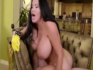 Sybil Stallones milf pussy riding a big young cock