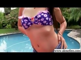 Amateur Alone Girl (sophia jade) Masturbates On Camera vid-25