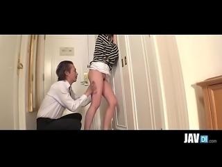JavDi.com - Hot Yuri Sakurai amazes with asian blow job