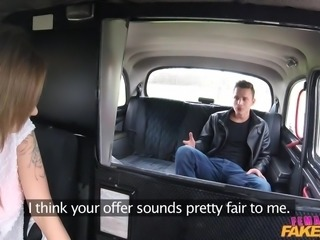 Blonde temptress Angel cruises the city in a fake taxi whenever she wants to...