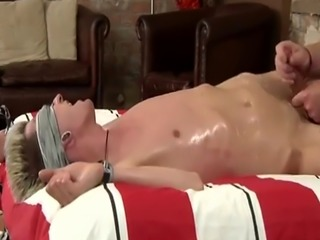 All xxx big gay sex Slippery with grease and leaking precum  his pipe