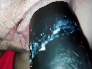 Xxl dildo Bec masturbation doggy creamy