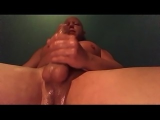 Stroking my cock for Sexychick170