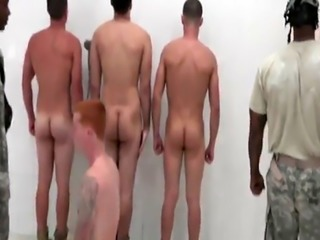 Hot american army guy naked gay first time The Hazing  The Showering a