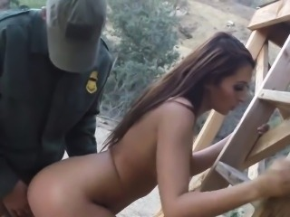 Big tit hypnosis Brunette gets pulled over for a cavity sear