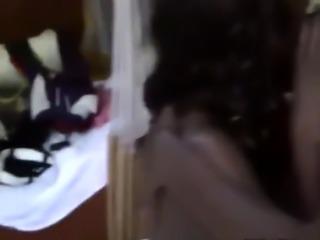 African Lesbians Megan And Veronica Enjoy Scissoring