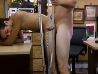Free straight guys fucking group gay Dude squeals like a lady!