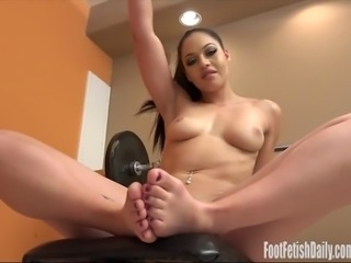 karissa kane foot fetish pussy toying