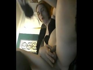 Nikki nik3242 crossdresser redhead anal