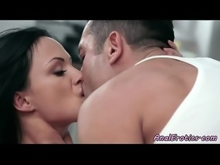 Glam milf buttfucked deeply by her lover