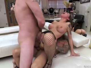 She was not ready at all, when he rudely shoved his dry cock in her pussy in...