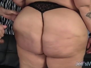 Fat ass Anna Anarchy fucked by old guy