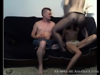 Big Booty Black Amateur Girls Ride Dick In Threesome