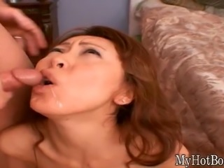 Hottest chick rubbing a vibrator over her pussy and pleasuring her clit.
