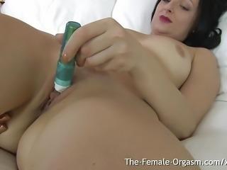MILFs Clit Buzzing Wet Pussy Masturbation and Orgasm