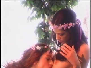 Sexy Cassidey fondling her tits while her lesbian dame licks her pussy