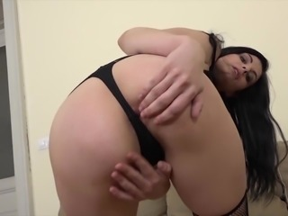 Interracial Anal Teen Gets Ass fucked Big Black Cock Hard