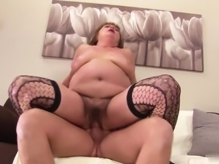 Carey hasnt shaved her vagina in years, so shes glad to finally get some dick