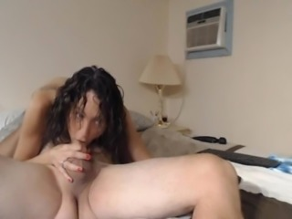 Wild Babe Let The Hard Dick Fuck Her Pussy