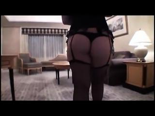 Amateur Asian flashing her boobs