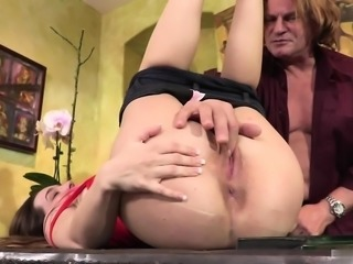 Bambi Brooks caught her uncle watching porn online....