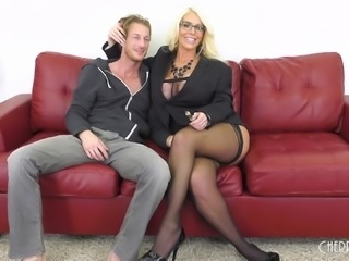 Alura Jenson is an experienced slut ready to be plowed