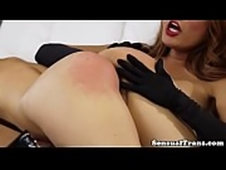 Perfect ladyboy fucks tattooed milf