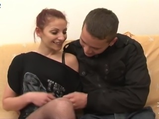 Just ordinary street harlot gets fucked in basic sex poses by the client