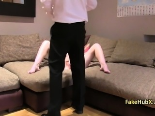 Milf ended anal fucked on casting