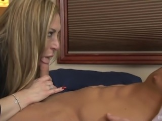 His friend's mom Savanna Jane has a hot pussy to drill big time