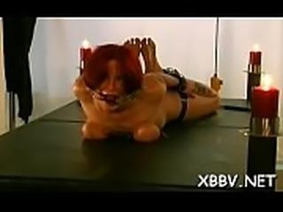Compliant chick tit punishment