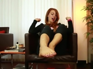 THE JOI For CREAMING On BECKY'S SEXY FEET