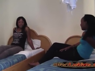 Extreme ebony dolls love to rub pussy just right