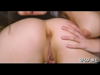 Obscene attitude during lesbian sex