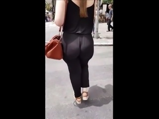 Phat Ass White Girl Walking
