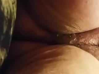 Me and my beautiful bbw wife eating her pussy pov