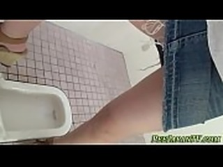 Watched asian babes piss