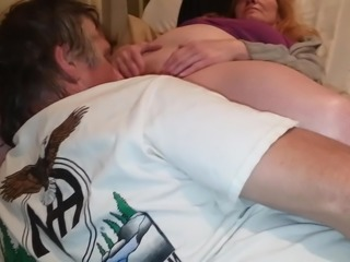 tammy gets her wet swollen pussy sucked till she cums