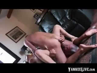 Old Cuck Cum Eater