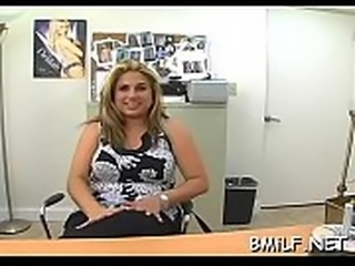 Marvelous hot milf excites her lover with her awesome twat