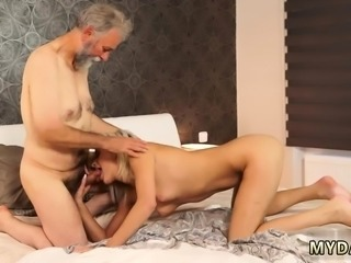 Old young bi threesome xxx Surprise your girlassociate