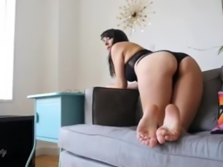 Sexy ass and pretty soles