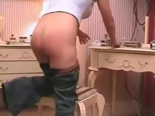nice spanking wedgie