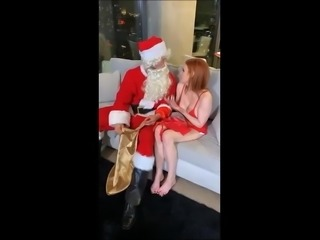 MW with Santa Claus