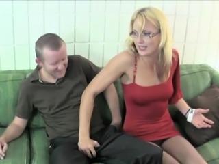 Stunning lady JC Simpson blows love rocket