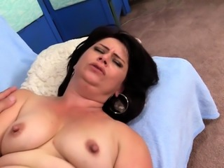 Long Rod Stuffs Elegant Granny Jenna Jingles Hard and Deep