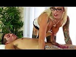 Inked up sex therapist sucks and fucks